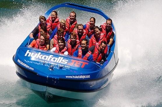 Hukafalls Jetboat AM Tour
