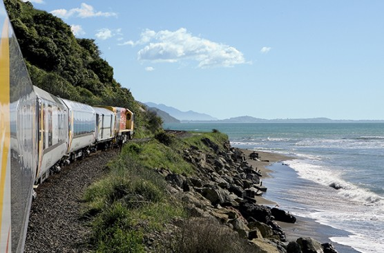 Coastal Pacific with Interislander Ferry -  Xmas -New Year Wellington to Christchurch