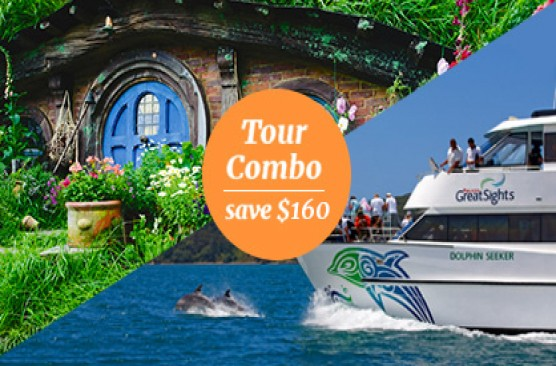 Bay of Islands + Waitomo Caves & Hobbiton Combo Tour - Auckland Return